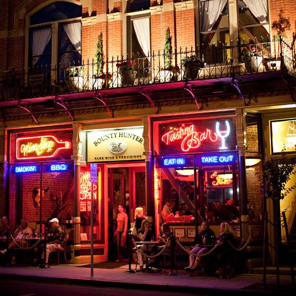 Bounty Hunter Wine Bar & Smokin' BBQ Neon Nights