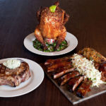 Beer Can Chicken, Pork Chop, Ribs