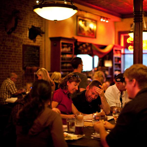 Bounty Hunter Wine Bar & Smokin' BBQ Patrons