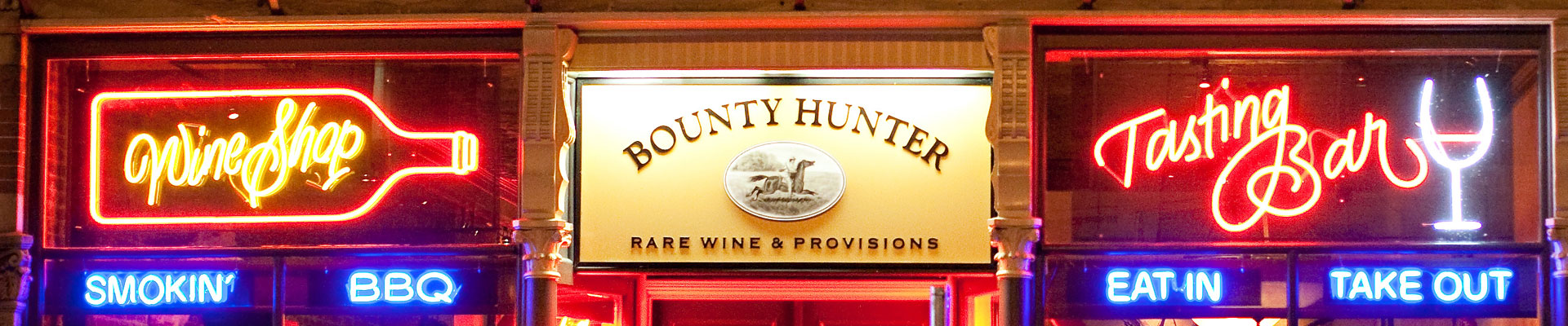 Bounty Hunter Wine Bar & Smokin' BBQ Take Out